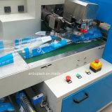 コップのための自動2ラインプラスチックパッキング機械