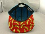 スクリーンによって印刷されるロゴのカスタム刺繍5のパネルの急な回復の帽子