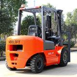 中国の工場高品質3tonのディーゼルフォークリフト大きい容量の低価格のディーゼルフォークリフト3000kgのトラック