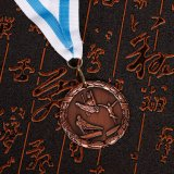 Custom дизайн 3D-Gold Silver бронзовую медаль Sport