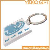 Netter Entwurf weiches Kurbelgehäuse-Belüftung Keychain mit kundenspezifischem Firmenzeichen (YB-PK-10)