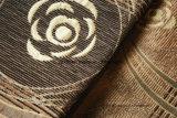 Sofá africanos de poliéster cubierta de tejido chenilla
