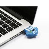 Personalizar promocionais Sports Árbitro Flash Memory Stick USB PVC Jogador de Futebol de forma a unidade flash USB para Messi