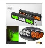 Gli accessori dell'automobile scelgono la riga ambrata ed il colore bianco che cambia la barra chiara del LED
