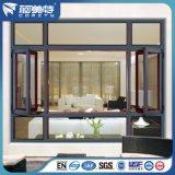 OEM/ODM Auminum Flügelfenster-Fenster mit unterschiedlicher Oberfläche