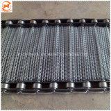 Корпус из нержавеющей стали с цепным приводом проволочной сеткой транспортера