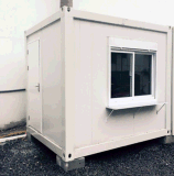 Casa rápida promocional del módulo del envase de la construcción de la venta caliente