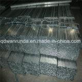 Tubo de acero de Rectangulat con la superficie galvanizada