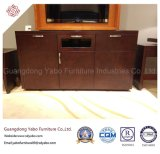 Moderne Hotel-Möbel mit Schlafzimmer hölzernem Fernsehapparat-Standplatz (YB-O-6)