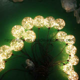 van de LEIDENE van 15cm Lichte Kerstmis Decorationsn Bal van de Tuin van Fabriek