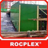 A película plástica do PVC enfrentou a madeira compensada para a construção