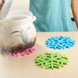 Couvre-tapis chaud anti-calorique de silicones de support de bac de vaisselle de cuisine neuve de modèle