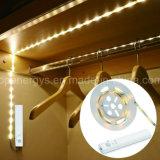 Luces de tira con pilas del armario LED