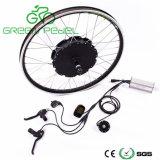 Зеленый Pedel 48V 1000W электрический велосипед Бесщеточный двигатель ступицы Gearless комплект