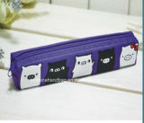 Bonitinha 3 bolso Notebook não tecidos Zipper Escola Binder saco de carvão