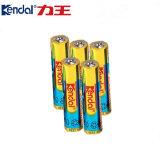 Bateria alcalina super 1.5V do AAA Lr03 Am4