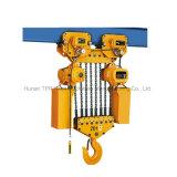 Grua Chain elétrica modelo de Hsy do elevador de 9 medidores 2 toneladas