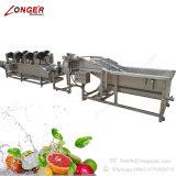 Máquina da arruela dos vegetais do aço inoxidável de Indusrial