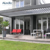 Garden Louvered Roof Sun Shade Aluminum Gazebo Canopy