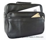 Fashion Funtional Hot Salts PU Leather Laptop Computer Bags with Side Pocket