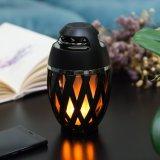 新式の炎ライト携帯用スピーカーの火LEDライトが付いている無線Bluetoothのスピーカー