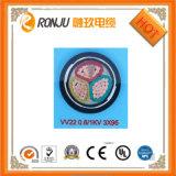 Aprovado pela UL Reoo resistente a UV Solar PV para cabo de alimentação