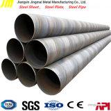 Tubo d'acciaio saldato a spirale del petrolio e del gas di SSAW api