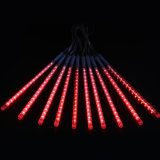 30cm 8 meteor-Dusche-Regen des Gefäß-144 LED RGB Mehrfarbenbeleuchtet wasserdichte Zeichenkette für Hochzeitsfest-Weihnachtsweihnachtsdekoration-Baum