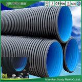 1000mm HDPE doppel-wandige gewölbte Entwässerung-Rohre