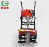 Micro cultivateur rotatif multifonction le labourage désherbage et le travail du sol de la machine timon rotatifs