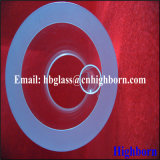 Clair de haute pureté épaisseur de paroi du tube de verre de quartz fournisseur