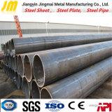Tubo de acero circular soldado para la maquinaria de la ingeniería