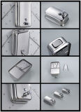 De Muur van het roestvrij staal zet Automaat Acero DE 304 Zeep Dispensador van de Zeep van de Automaat van de Lotion van de Shampoo van de Hand de Hand Vloeibare op