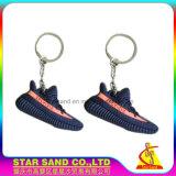 Correntes chaves de borracha do PVC 2D macio da alta qualidade para presentes da promoção