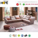 Novo Design Coreana moderna sala de estar sofá de tecido de mobiliário (HC-R572)