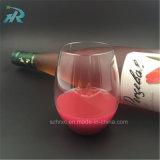 vidrio de vino plástico reutilizable de 16oz 450ml Tritan, taza plástica dura del vino
