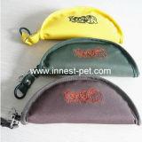Milieuvriendelijk Nylon dat de Opvouwbare Voeder van de Hond van het Huisdier van de Kom van de Hond van de Reis vouwt