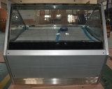 Congelador do indicador do gelado de Gelato com 12 bandejas (QP-BB-12)