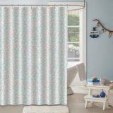 China fornecimentos feitos a cortina do chuveiro com pequena flor impresso