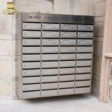 Caja del apartamento del acero inoxidable del montaje de la pared