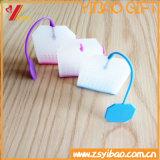 Tamiz común del té del silicón de la categoría alimenticia de Infuser del té del silicón