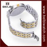 Relógios de pulso análogos luxuosos da jóia do presente de quartzo das senhoras de Belbi