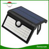La lumière solaire pliable 42 LED SMD2835 Capteur de mouvement IRP jardin extérieur éclairage mural