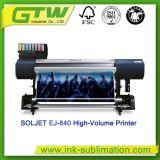 Imprimante à fort débit neuve de Roland Soljet Ej-640 de jet d'encre pour l'impression colorée