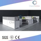 La partición bajo la mesa de trabajo en forma de L Estación de trabajo de oficina (CAS-W31423)