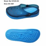 Sandali casuali della tomaia del PVC dei sandali del pistone degli uomini