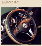 """Volledig Bergkristal met AutoDekking 15 van het Stuurwiel van de Auto """" 38cm"""
