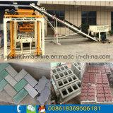 Célèbre marque Fuda machine à briques, Semi-automatique machine à fabriquer des briques