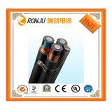 Vsf 0.75mm2 flexible kupferne Leiter Belüftung-Isolierungs-weiße schwarze Farben-Kabel-Draht-Fabrik