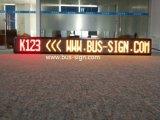 Indicador de diodo emissor de luz da cor do barramento único para estações de autocarro, rota e o batente seguinte